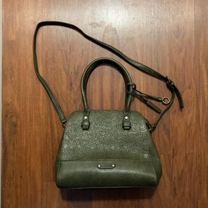Simply noelle ladies green purse
